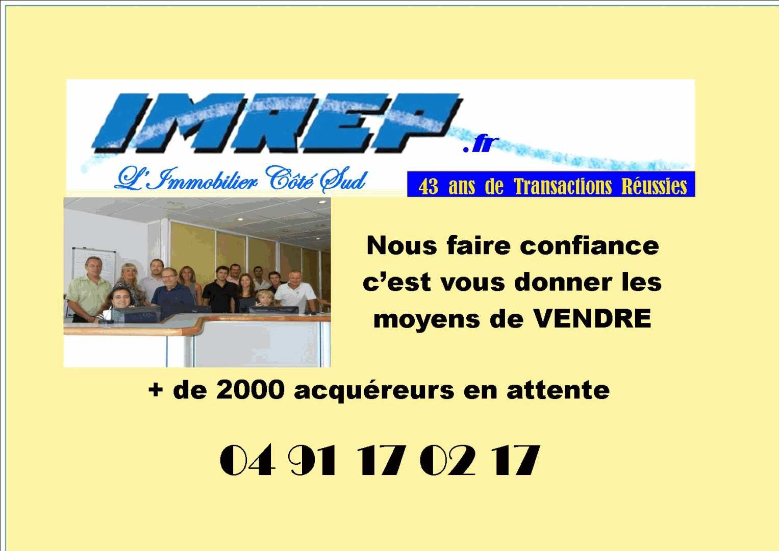 I m r e p agence immobili re marseille for Agence immobiliere 13009