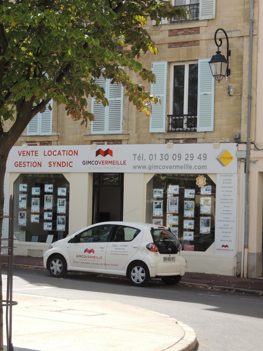 Real estate agency GIMCOVERMEILLE in Le Vesinet