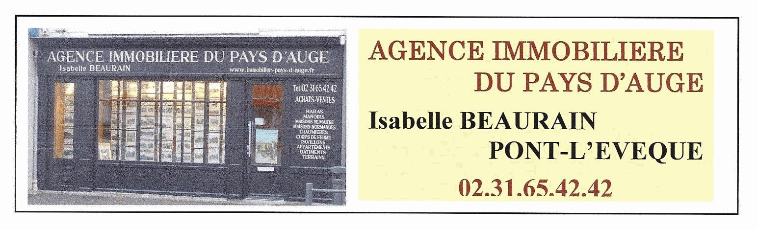 AGENCE IMMOBILIERE DU PAYS D'AUGE Mme Isabelle BEAURAIN