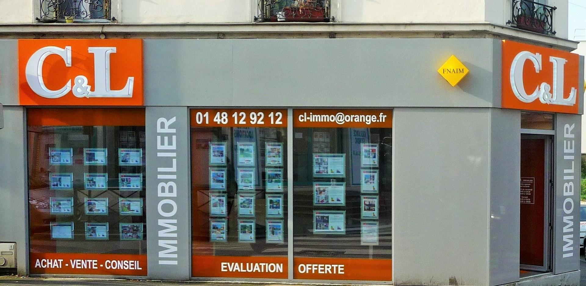 CL IMMO agence immobili u00e8reà ROSNY SOUS BOIS # Agence Immobilière Rosny Sous Bois