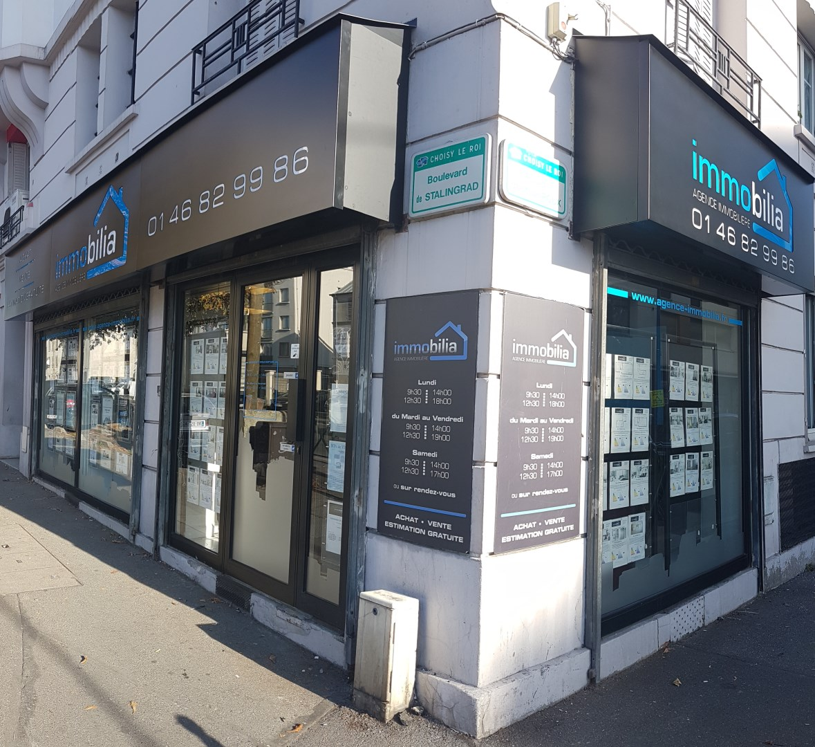 Immobilia agence immobili re choisy le roi for Agence immobiliere 94