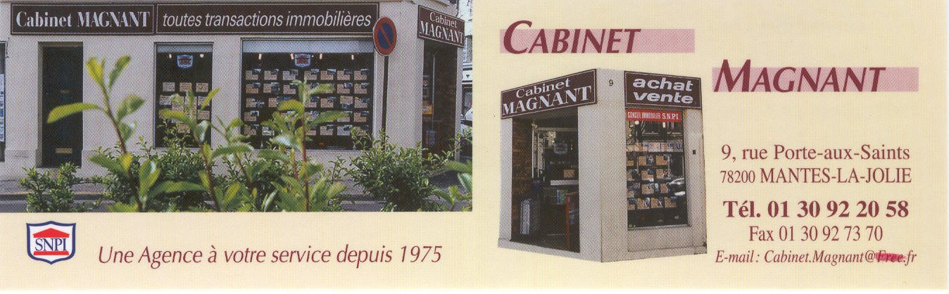 cabinet magnant agence immobili 232 re 224 mantes la