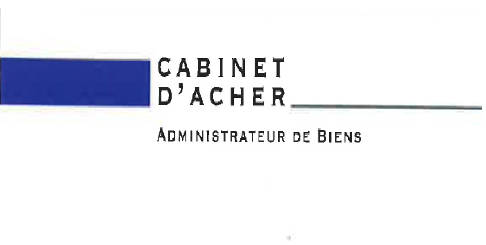 CABINET D'ACHER