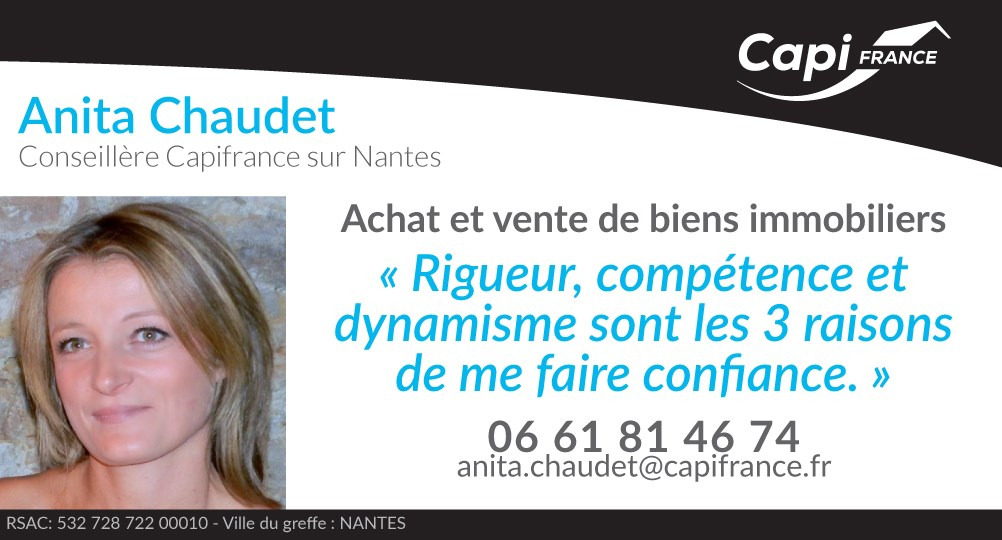Real estate agency CHAUDET Anita - CAPI France in Nantes