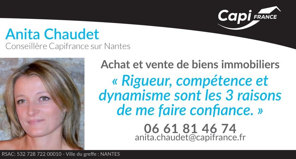 Real estate agency CHAUDET Anita - CAPI France in Nantes