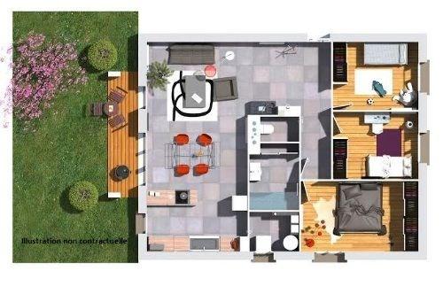 Maison  4 pièces + Terrain Beaumont-Lès-Valence par Cotrin