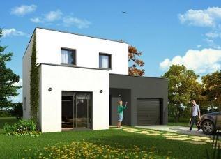 """Modèle de maison  """"Modèle de maison 5 pièces"""" à partir de 5 pièces Ardennes par MAISONS BROOKS REIMS"""