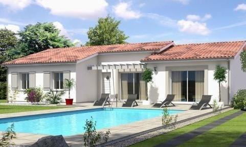 Maison  4 pièces + Terrain 1237 m² La Croix Blanche par SIC HABITAT