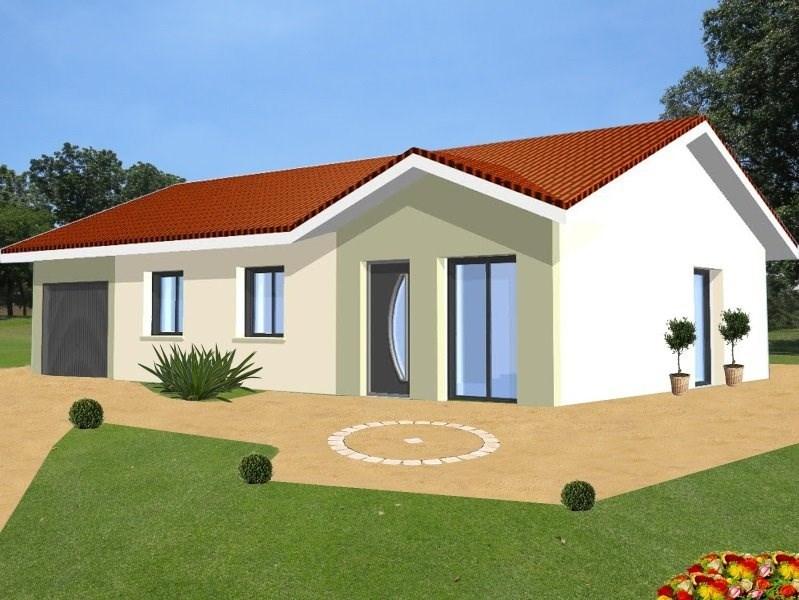 Maison  4 pièces + Terrain 950 m² Chambery par Design Batiment Maximmo