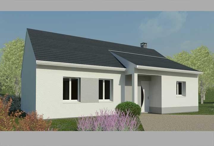 Maison  4 pièces + Terrain 757 m² Boissey-le-Châtel par HABITAT CONCEPT