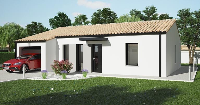 Maison  4 pièces + Terrain 592 m² Les Epesses par MAISONS D'EN FRANCE ATLANTIQUE LA ROCHE SUR YON