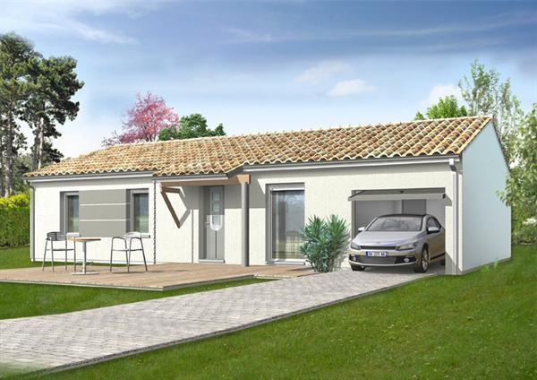 Maison  4 pièces + Terrain 343 m² Parentis en Born (40160) par IMMO CONSTRUCTION