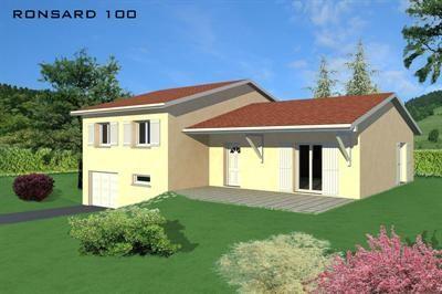 """Modèle de maison  """"Ronsard 100"""" à partir de 5 pièces Loire par VILLAS LESPINE"""