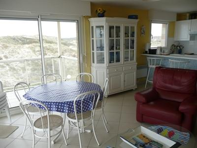 Location vacances Appartement 3 pièces 68m² Stella Plage