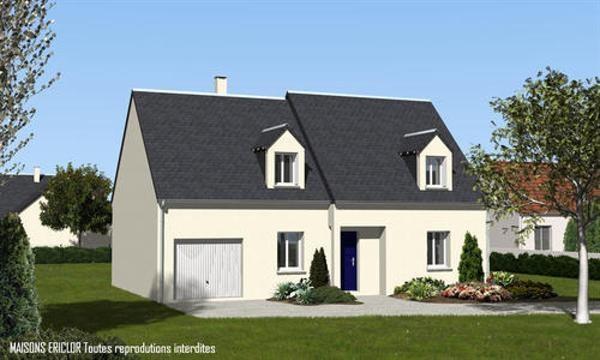Maison  6 pièces + Terrain 1000 m² Huisseau-en-Beauce par maisons ericlor