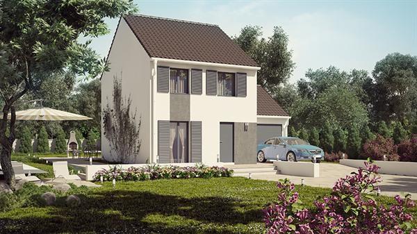 Maison  5 pièces + Terrain 410 m² Quincy-Voisins par HABITAT PARCOEUR