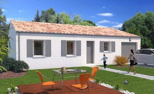 """Modèle de maison  """"Modèle de maison 3 pièces"""" à partir de 3 pièces Isère par CITY CONSTRUCTIONS"""