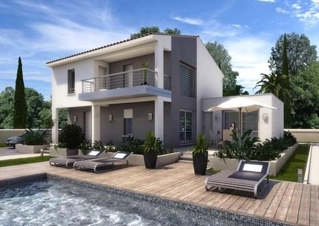 Maison  6 pièces + Terrain 489 m² Morieres par ART ET TRADITION MEDITERRANEE