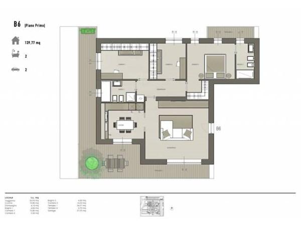 Vente Appartement 4 pièces 140m² Stezzano