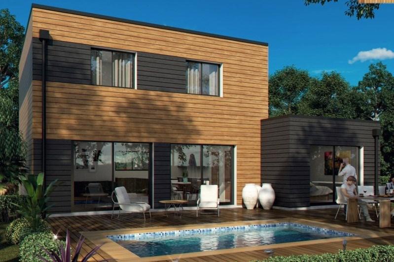 """Modèle de maison  """"Modèle de maison bois"""" à partir de 5 pièces Gard par GINKGO"""