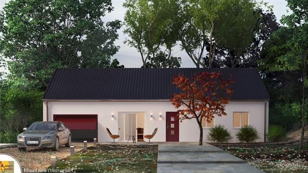Maison  3 pièces + Terrain 1500 m² Le Vernet par SARL MAISON ET JARDIN