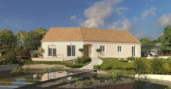 Maison  6 pièces + Terrain 700 m² Saint-Nicolas-de-Redon par MAISONS PIERRE
