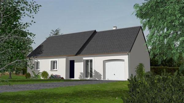 Maison  4 pièces + Terrain 867 m² Pezou par maisons ericlor