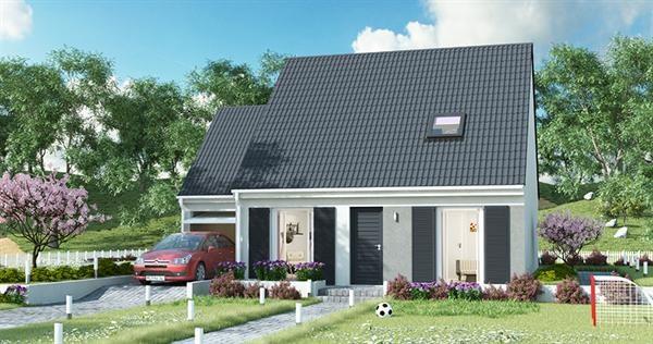 Maison  5 pièces + Terrain 1300 m² Saint-Maulvis par MAISONS PIERRE