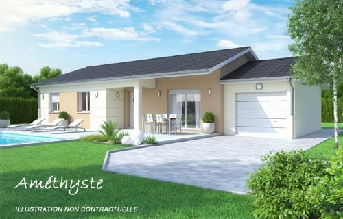 Maison  4 pièces + Terrain 655 m² Blyes (01150) par BATI EST