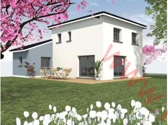 Maison  4 pièces + Terrain 500 m² Saint-Alban-de-Roche par TRADYBEL RHONE