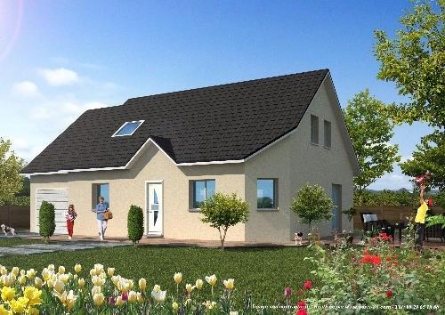 Maison  4 pièces + Terrain 700 m² Besançon par TRADICONFORT 25