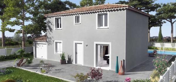 Maison  4 pièces + Terrain 947 m² Cornillon-Confoux par VILLAS TRIDENT SALON DE PROVENCE