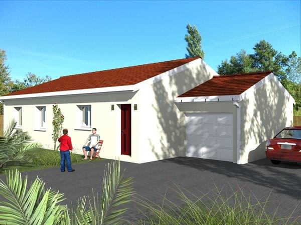 Maison  5 pièces + Terrain 600 m² Valencin par MAISONS SMILE