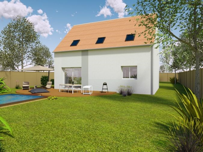 Maison  6 pièces + Terrain 583 m² Mézières-sur-Seine par MAISONS SESAME