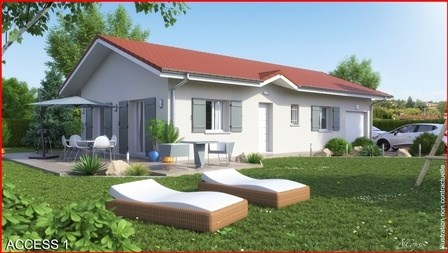 Maison  4 pièces + Terrain 521 m² Frontenex par MAISONS ET CHALETS DES ALPES MCA