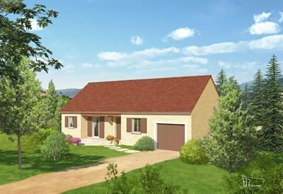 Maison  5 pièces + Terrain 755 m² Losne par Top Duo Dijon