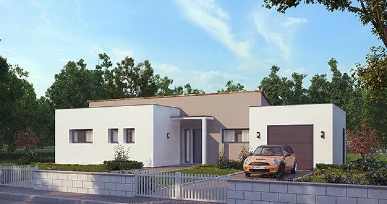 Maison  5 pièces + Terrain 414 m² Saint-Jean-de-Monts par MAISONS D'EN FRANCE ATLANTIQUE LA ROCHE SUR YON