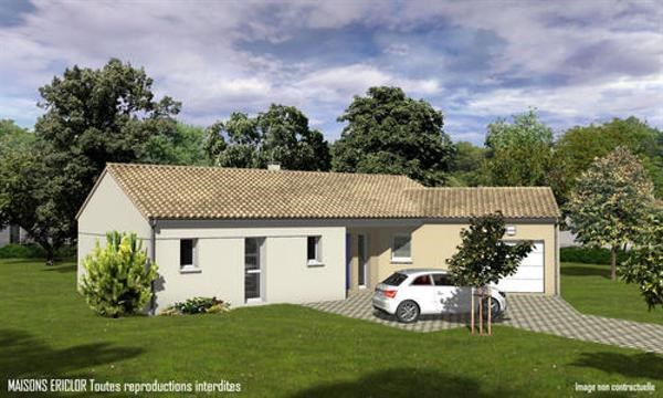 Maison  5 pièces + Terrain 4000 m² Mauprévoir par Maisons Ericlor