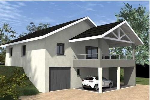 Maison  4 pièces + Terrain 1000 m² Fillinges par CREAVILLA 73