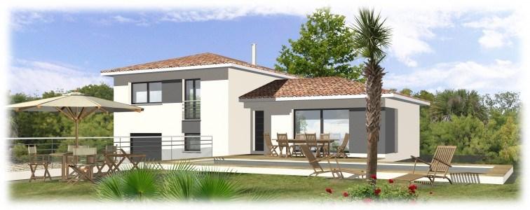 Maison  5 pièces + Terrain 1400 m² Puyricard par MAISONS BLANCHES