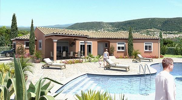 Maison  4 pièces + Terrain 800 m² Montferrier-sur-Lez par MAISONS GUITARD