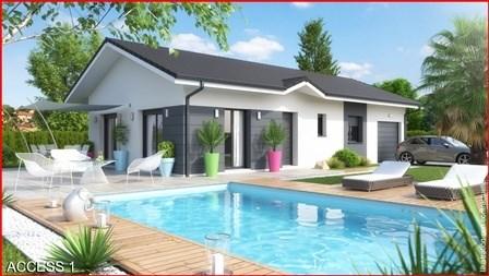 Maison  3 pièces + Terrain 1200 m² Verthemex par M C A / Maisons et Chalets des Alpes