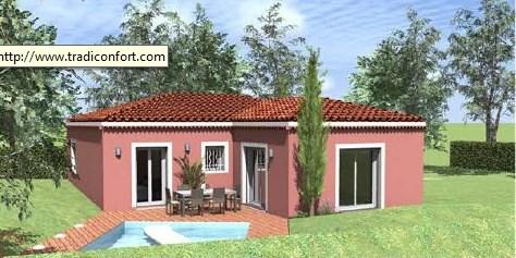 Maison  5 pièces + Terrain 900 m² Marlieux par TRADICONFORT 69