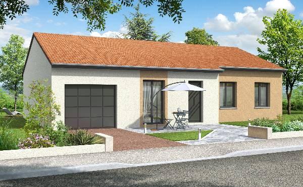 """Modèle de maison  """"Modèle de maison HESTIA 5 pièces"""" à partir de 5 pièces Loire par CRC"""