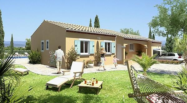 Maison  5 pièces + Terrain 580 m² Saint-Jean-de-Cornies par MAISONS GUITARD