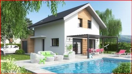 Maison  4 pièces + Terrain 800 m² Ambérieu-en-Bugey par MCA  MAISONS & CHALETS DES ALPES