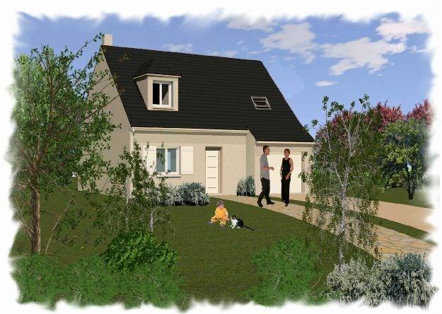 """Modèle de maison  """"Jasmin 5 pièces"""" à partir de 5 pièces Seine-et-Marne par CARON CONSTRUCTION"""