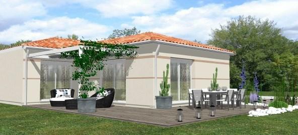 Maison  4 pièces + Terrain 600 m² Villegouge par IGC CONSTRUCTION