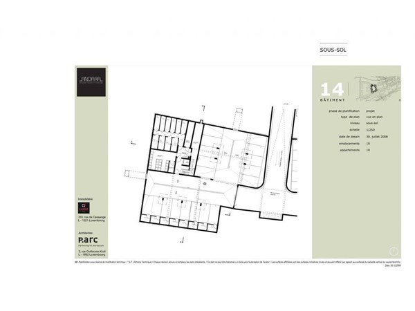Vente Parking / Box Luxembourg-Cessange