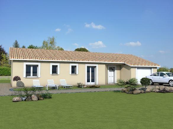 Maison  5 pièces + Terrain 750 m² Saint-Étienne-des-Oullieres par MAISONS ARLOGIS